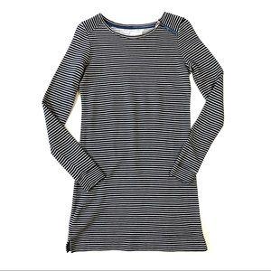 Lou & Grey Inky Striped Shirt Dress